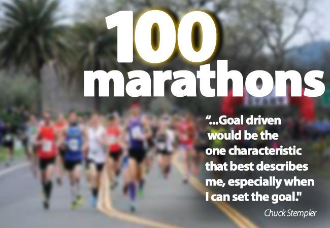 Goal-driven focus is key to Chuck Stempler's marathons & business