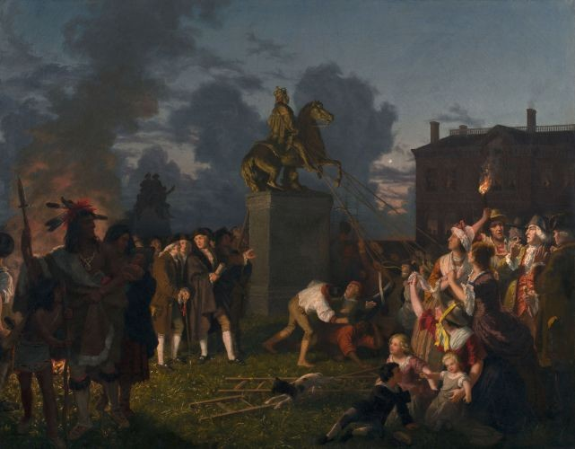 Johannes_Adam_Simon_Oertel_Pulling_Down_the_Statue_of_King_George_III_N.Y.C._ca._1859