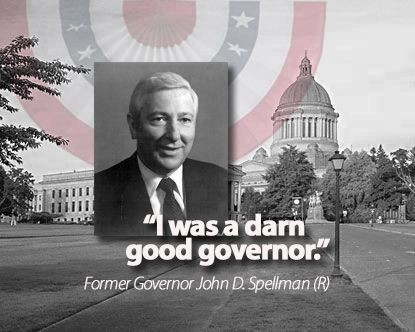 "State's last GOP governor 40 years ago once described himself as ""darn good governor"""