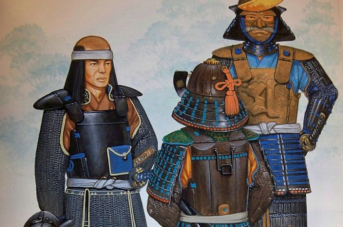 Artist's lifelong attraction to Samurai led him to major weapons collection
