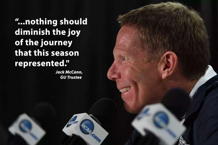 Gonzaga basketball coach Mark Few puts to rest axiom that 'nice guys finish last'
