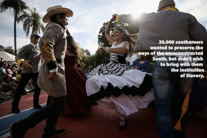 Event marks 150th anniversary of Confederate emigration to Brazil